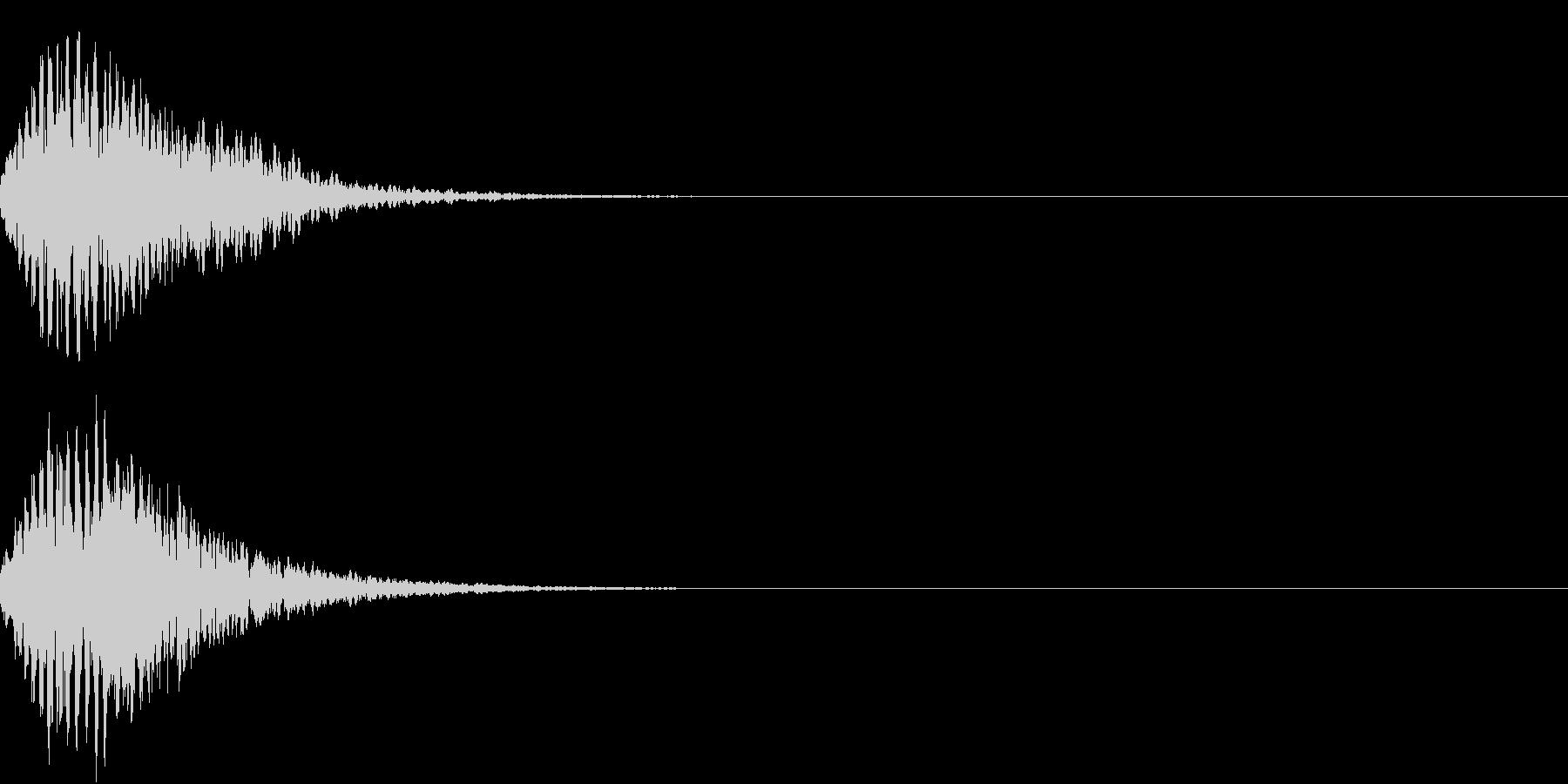 キュイン 光 ピカーン フラッシュ 07の未再生の波形