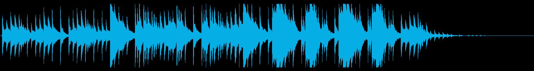 琴による正月らしい曲/日本/和風/結婚式の再生済みの波形