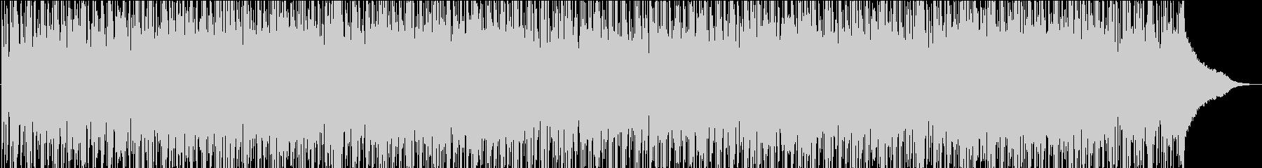 ポジティブで浮遊感のあるBGMの未再生の波形