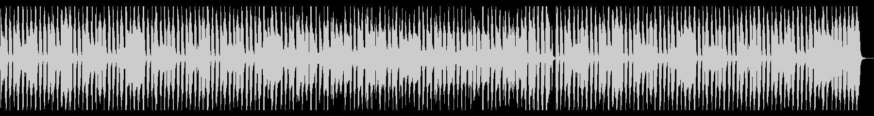 手拍子とウキウキなピアノの未再生の波形