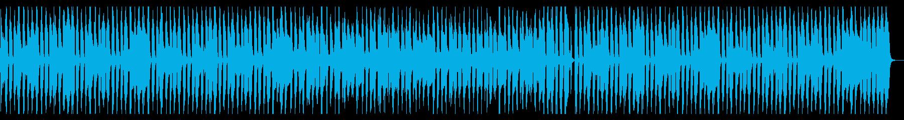 手拍子とウキウキなピアノの再生済みの波形