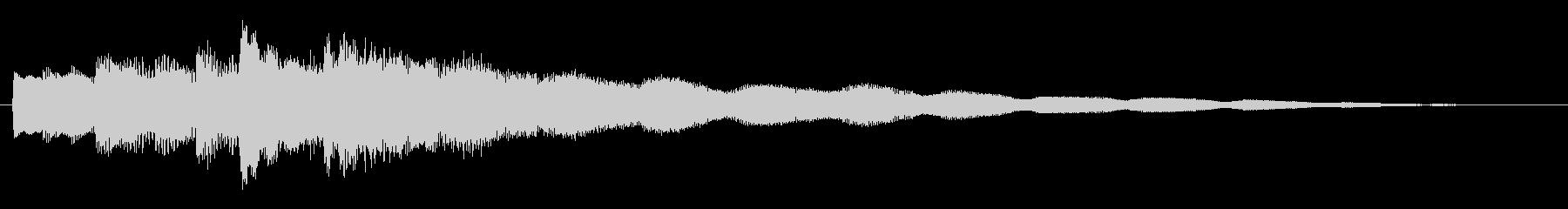 不思議・幻想的なエレピのジングルの未再生の波形