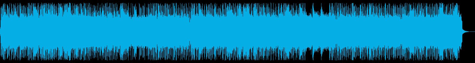 疾走感溢れるリフがエモいLAメタルメロ無の再生済みの波形