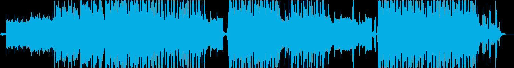切ないトラップビートchill lofiの再生済みの波形
