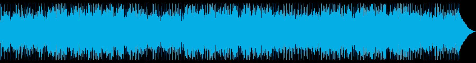 短調のレゲエ・ダブ風。ブラスのメロディの再生済みの波形
