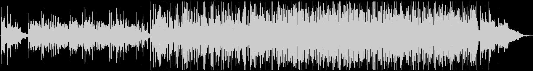「春霞」をイメージした幻想的で淡い曲の未再生の波形