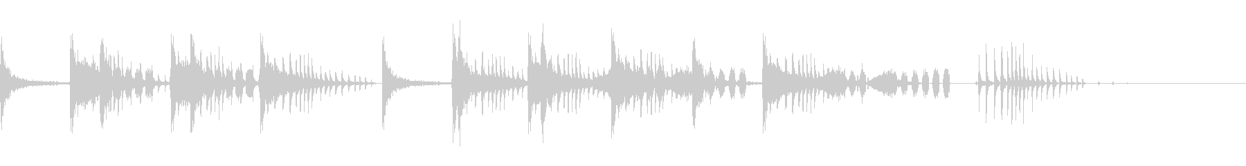 とんとん(派手な建設中の音)B07の未再生の波形