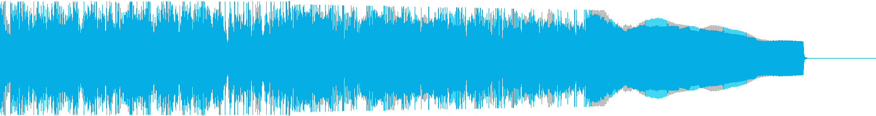 カントリー風ギターイントロ−06Bの再生済みの波形
