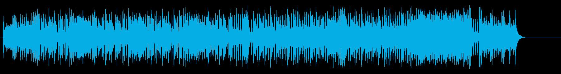 夢が溢れるメルヘンチックなセミクラポップの再生済みの波形