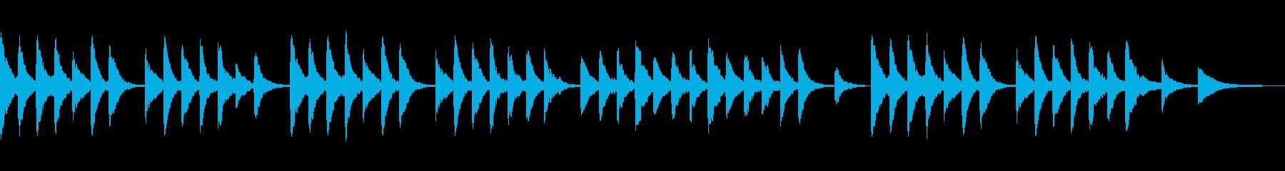 滅び 物語の終末の後 ローファイピアノの再生済みの波形