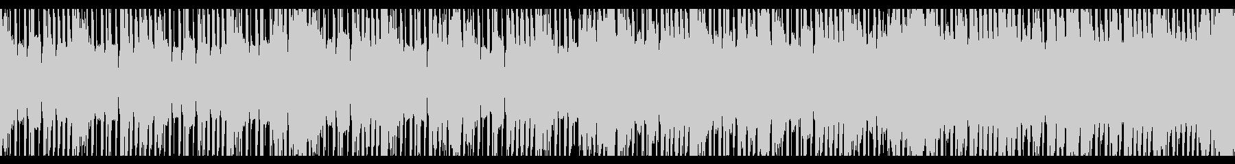 スポーツトラップの背景(ループ)の未再生の波形
