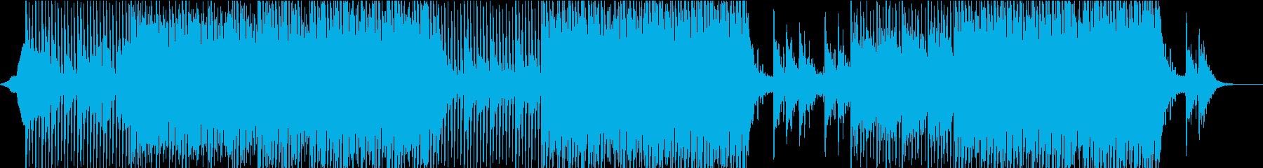 ポップ テクノ ロック ラウンジ ...の再生済みの波形