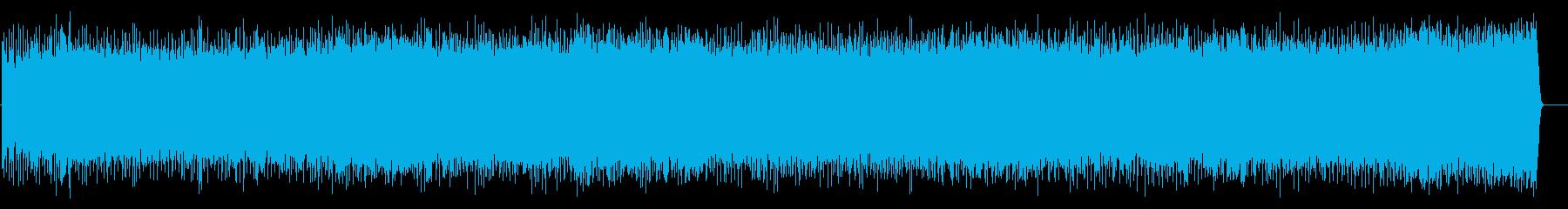 メロディーが陽気なアメリカンハードロックの再生済みの波形