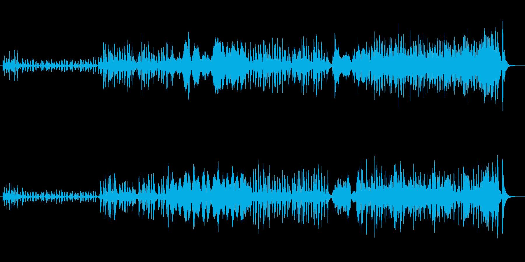 ストリングスが美しいワルツの再生済みの波形