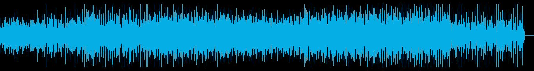 徐々に進展するダークなハウスの再生済みの波形