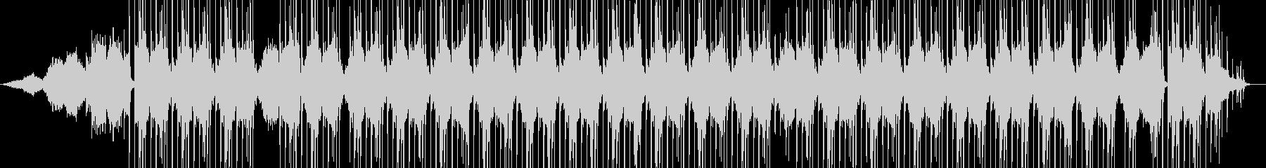 幻想系ビートの未再生の波形
