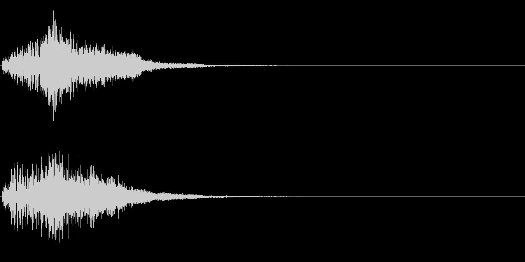 ハープ・上昇_1-1の未再生の波形