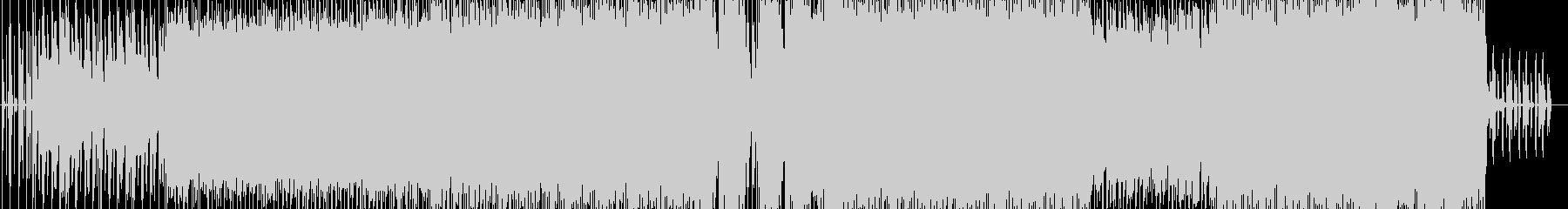 ピアノと歪んだギターで破滅をイメージの未再生の波形