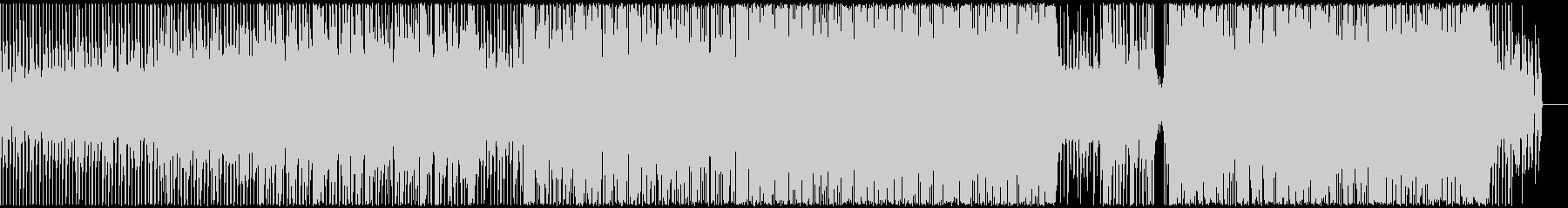 軽快なエレクトロポップの未再生の波形