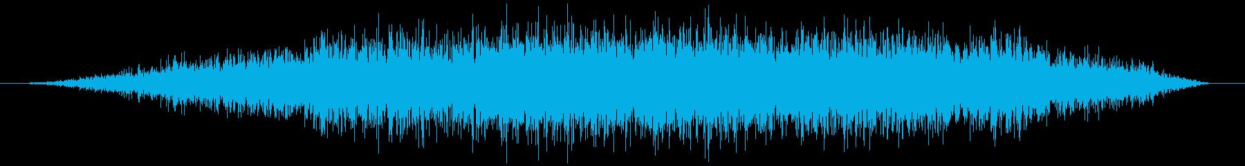 空気を入れる(抜く等)ヒュゥゥの再生済みの波形