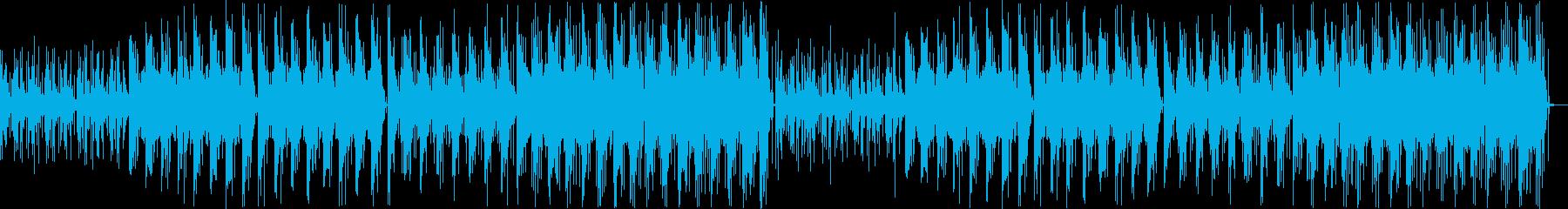 【チル】ゆったりとしたBGM・1の再生済みの波形