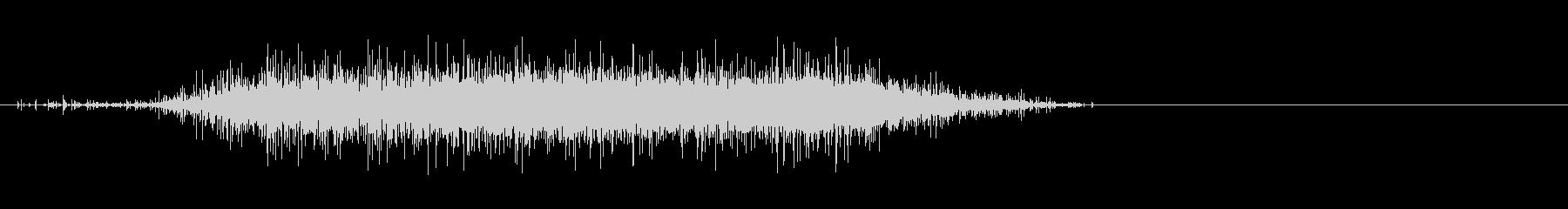 レインスティックの美しい音【スロー③】の未再生の波形