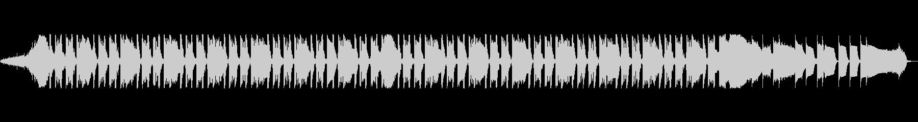 通信IDには音の影響はありませんの未再生の波形