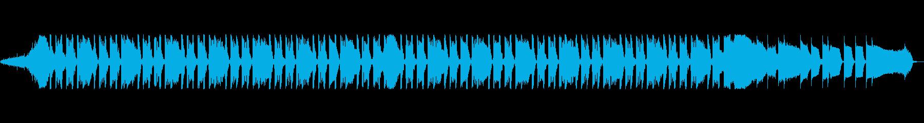 通信IDには音の影響はありませんの再生済みの波形