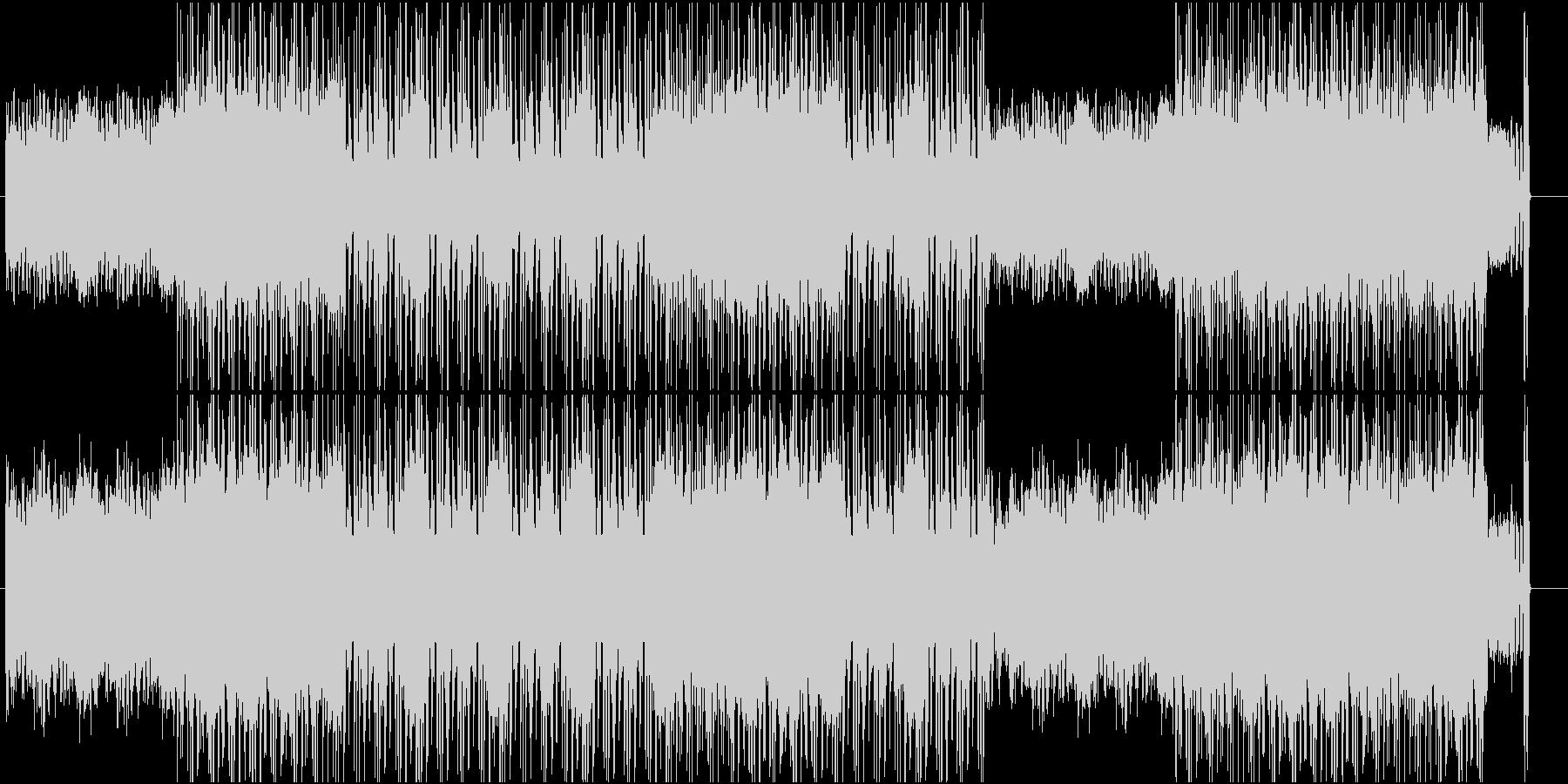 ロックとオーケストラを融合させた音源ですの未再生の波形