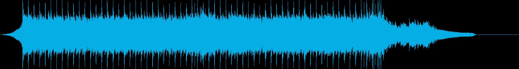 企業VP系51、ギター、4つ打ちロックcの再生済みの波形