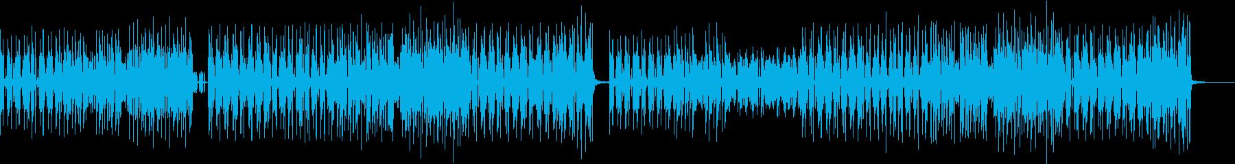 明るい、かわいい、焦るタイムリミット曲の再生済みの波形