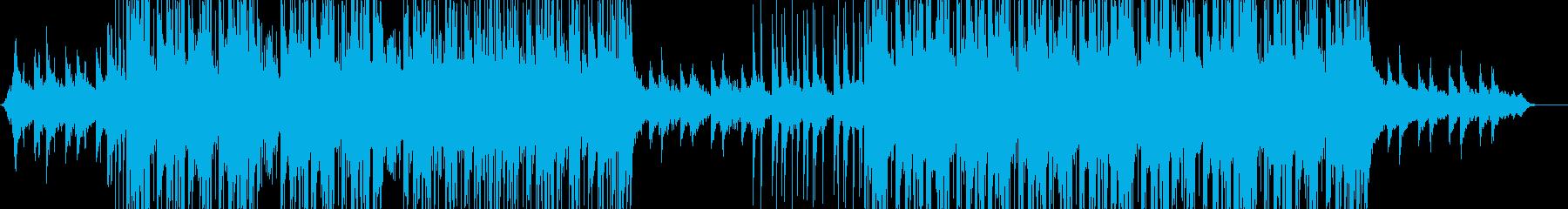 future bass、洋楽、EDMの再生済みの波形