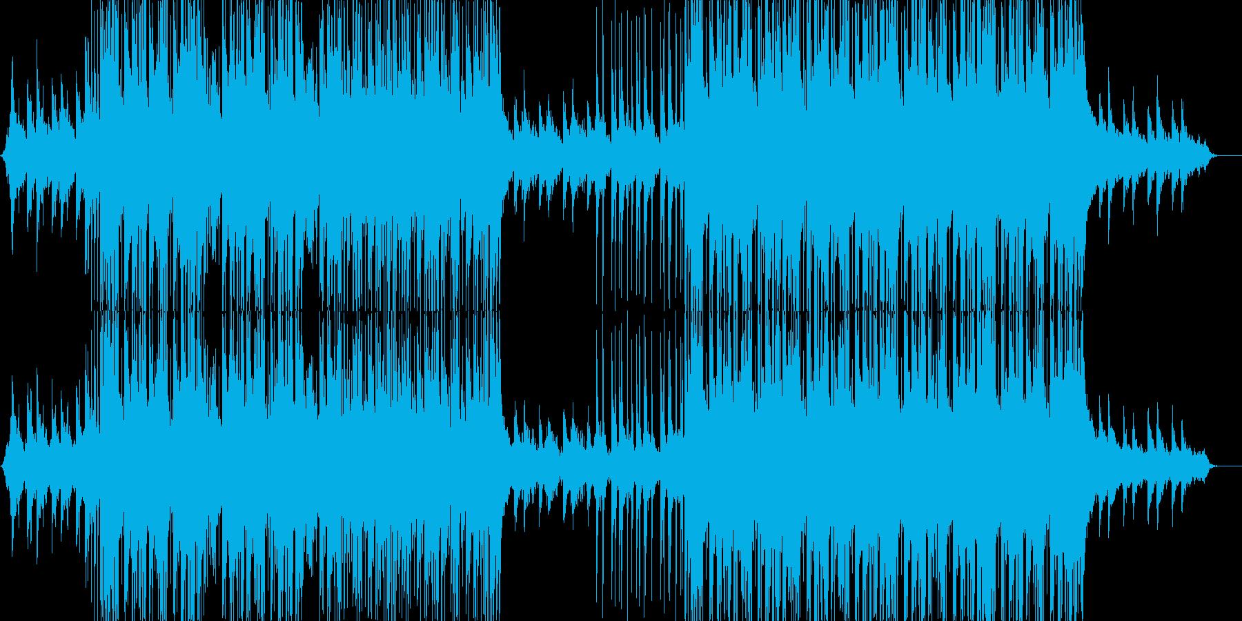 future bass、EDM1-Aの再生済みの波形
