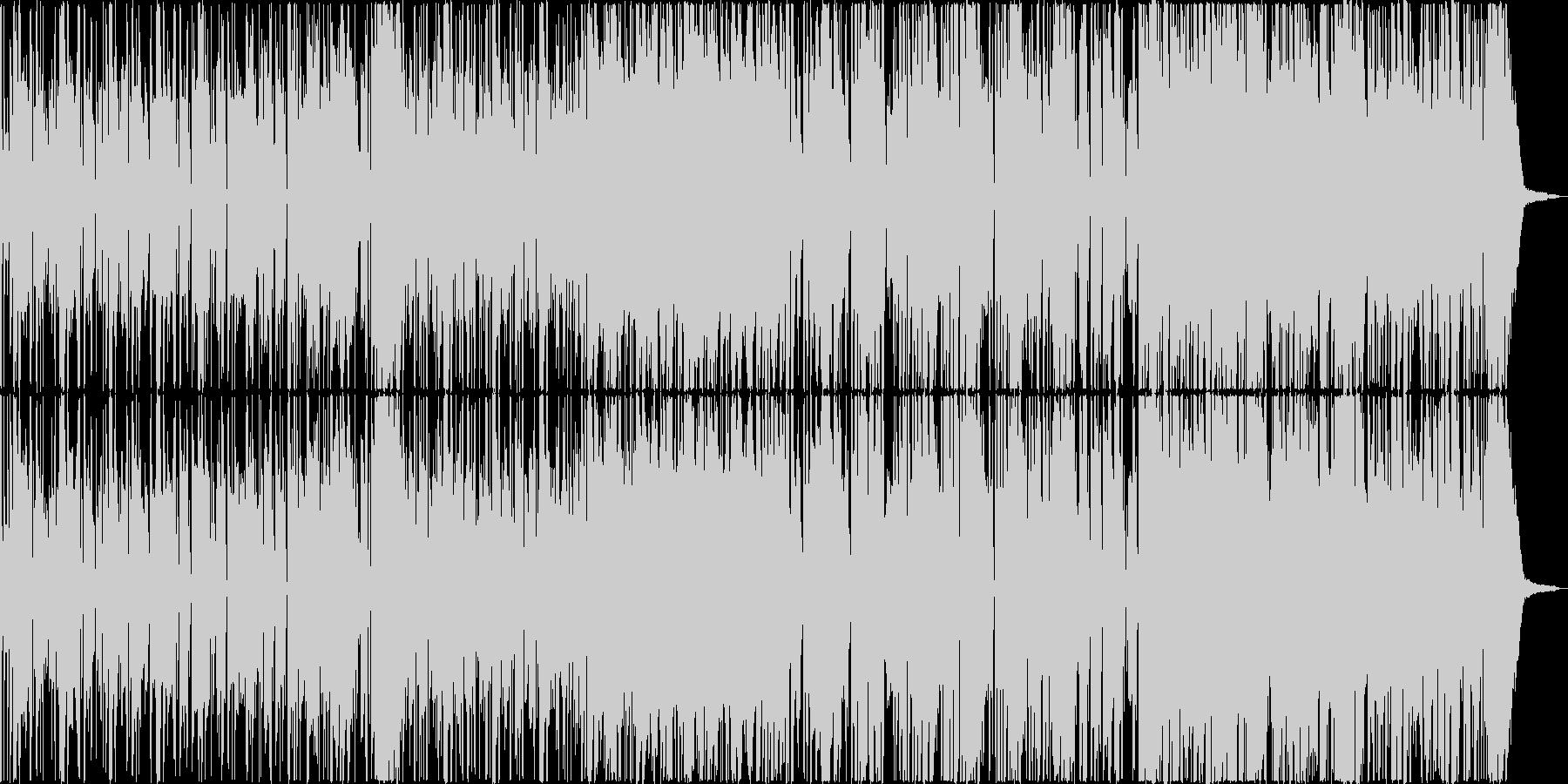 優雅で懐疑的なサックスジャズの未再生の波形