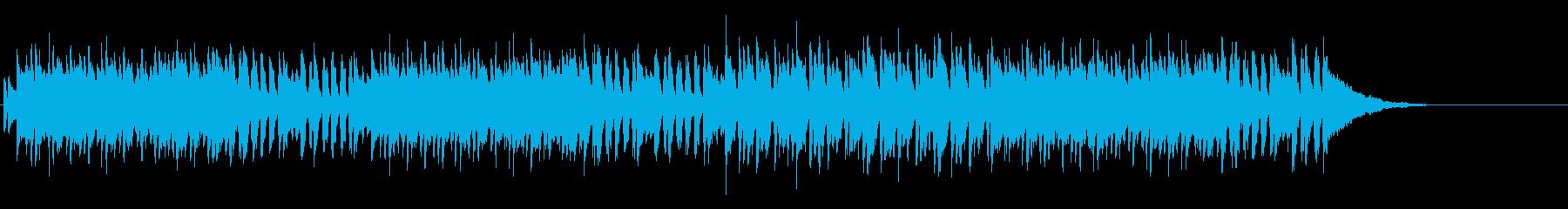 ムーディーな大人のボサノバ・サウンドの再生済みの波形