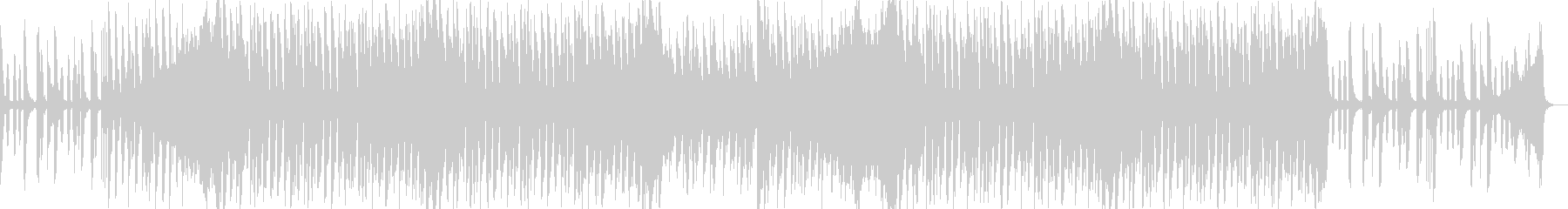 ノリノリカワイイポップな4つうちのBGMの未再生の波形