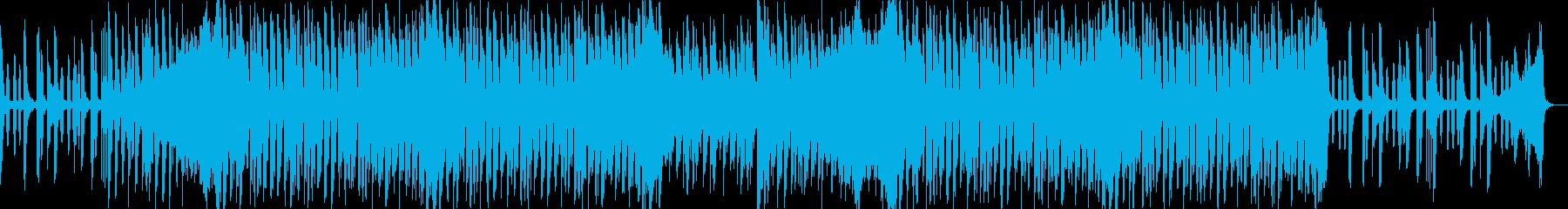 ノリノリカワイイポップな4つうちのBGMの再生済みの波形