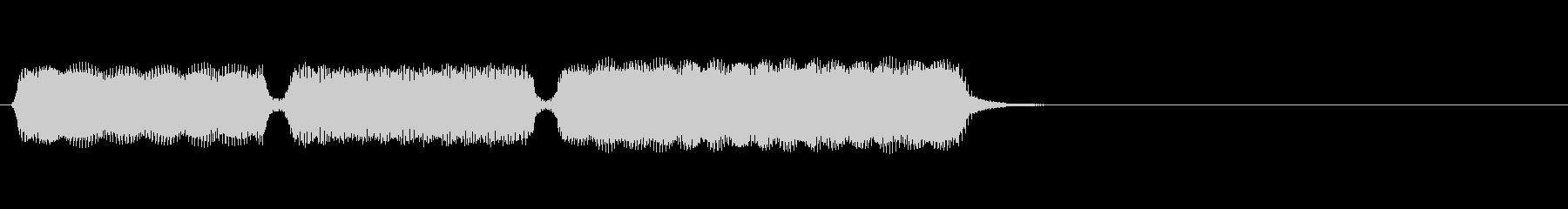 生演奏リコーダーでおじぎの未再生の波形
