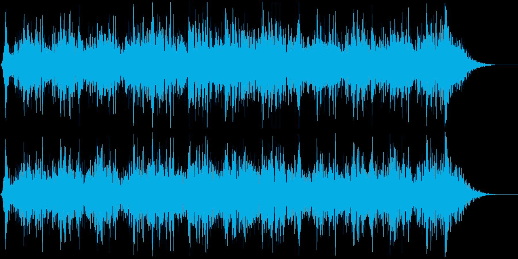 ハリウッド風トレイラー リズム主体09の再生済みの波形