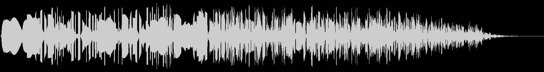 ファミコン風_ 魔法音3の未再生の波形