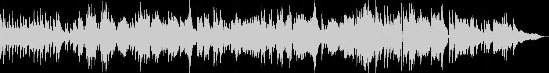 生演奏 爽やかな雰囲気のピアノBGMの未再生の波形