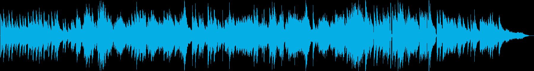 生演奏 爽やかな雰囲気のピアノBGMの再生済みの波形