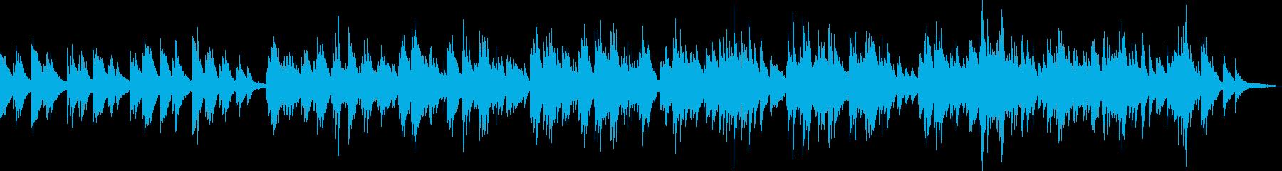心温まるピアノ曲(優しい・励まし)の再生済みの波形