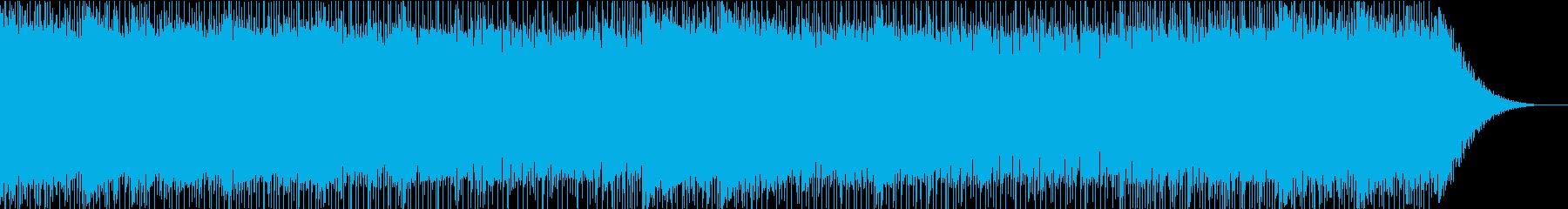 修行をイメージした中国風ロックの再生済みの波形