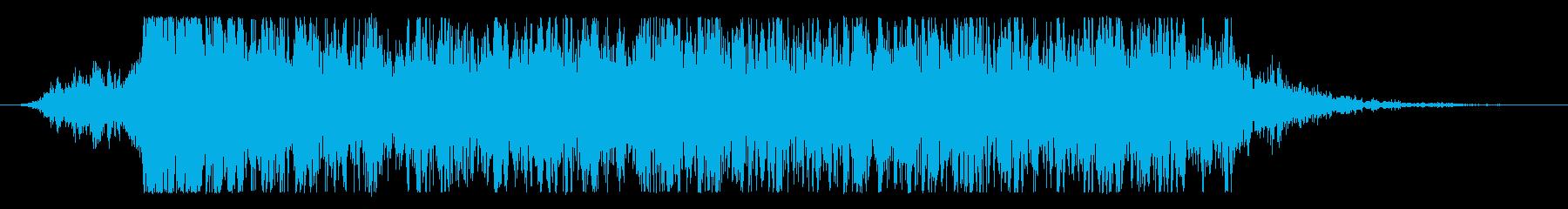 火 ランスヒット01の再生済みの波形
