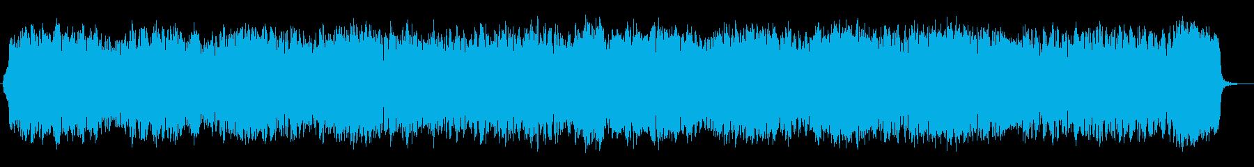 幻想的で情緒的なメロディが特徴のポップスの再生済みの波形