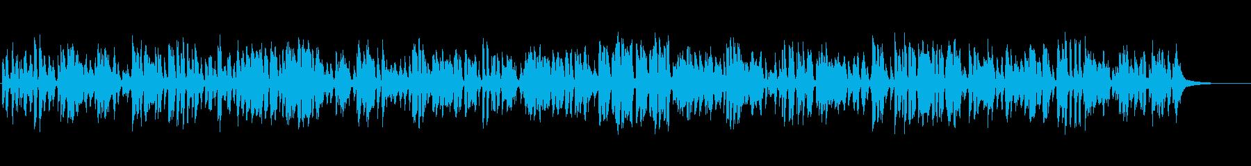 明るく楽しい大正ロマンクラリネットジャズの再生済みの波形