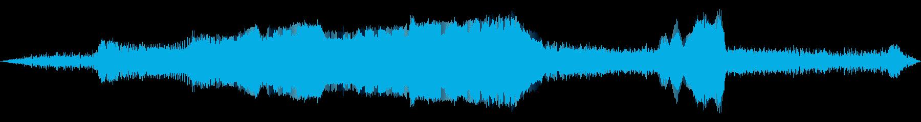 ビンテージ 車 シボレー57加速排...の再生済みの波形