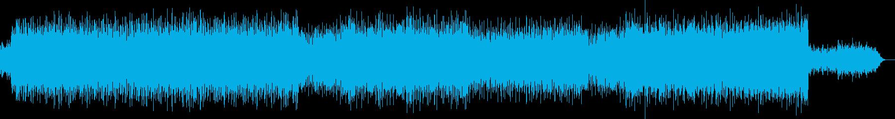 ミステリー・冷たい・怪しい細かなリズム曲の再生済みの波形