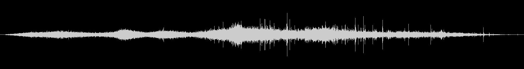 植生 木の葉ラッスルソフト04の未再生の波形